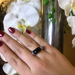 Judith Ripka Black Onyx Ring